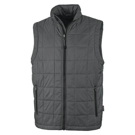 Charles River Apparel Men's Lightweight Quilted Pocket Vest