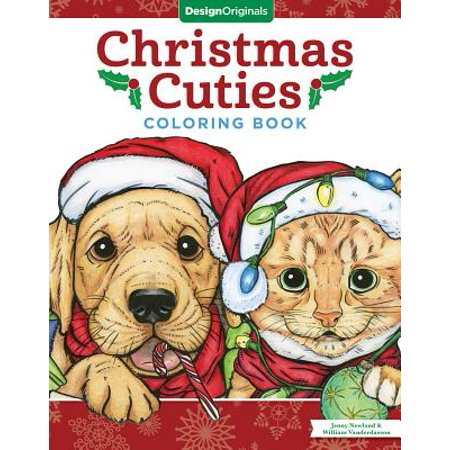Christmas Cuties Coloring Book - Christmas Coloring Books