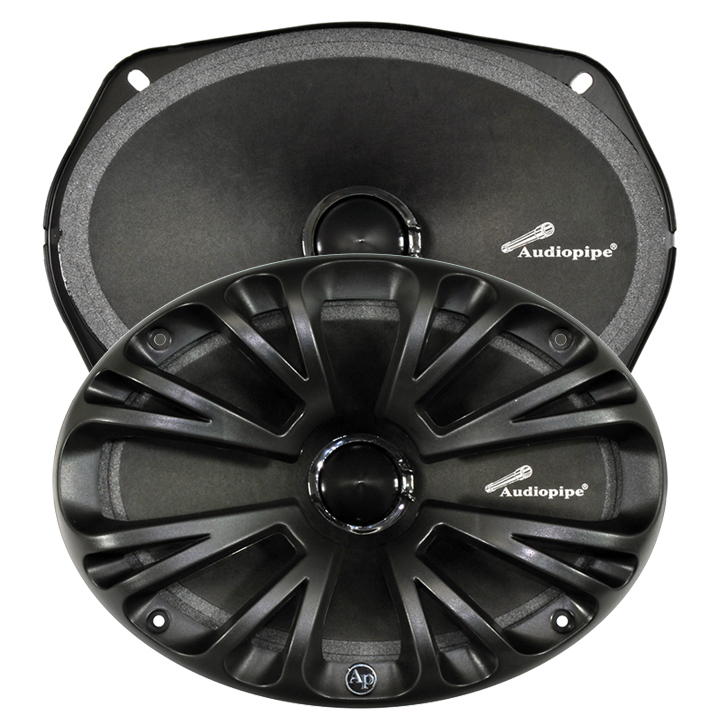 "Audiopipe 6X9"" low mid frequency loudspeakers (Sold in pairs) 125W RMS 8Ohms"