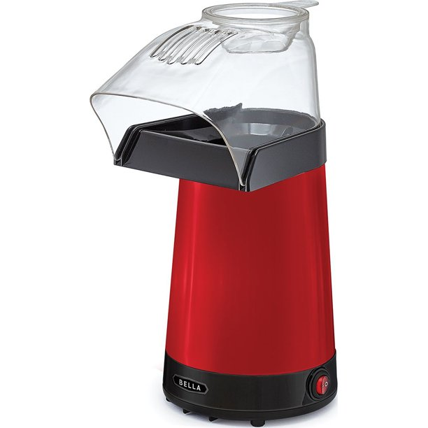 Sensio Bella 14604 Hot Air Popcorn Popper Maker Red Walmart Com