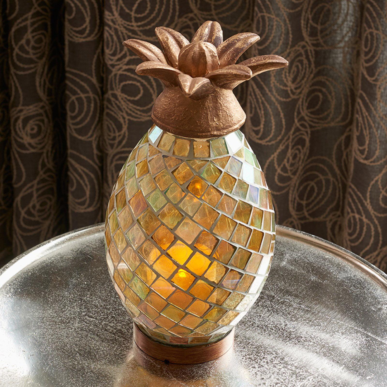 "Smart Solar Ananas 10"" Pineapple Lamp"