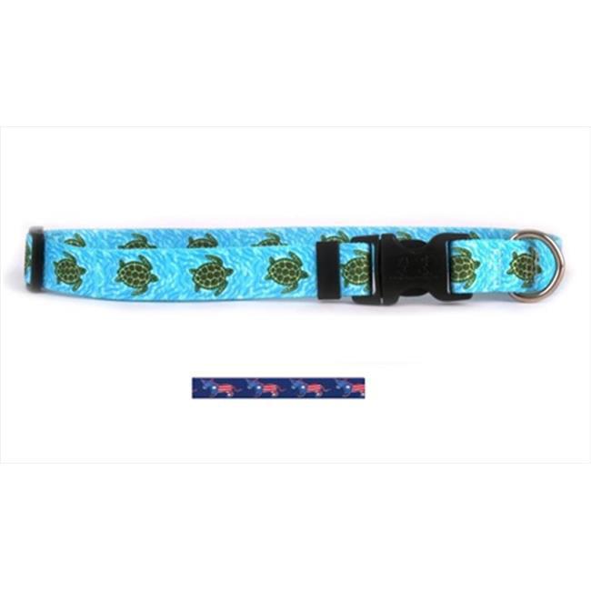 Yellow Dog Design DEM101S DEM Donkeys Standard Collar - Small