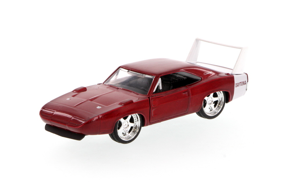 1969 Dodge Charger Daytona, Red Jada Toys 96929 1 32 scale Diecast Model Toy Car (Brand... by Jada