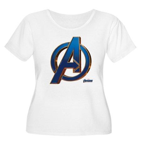 5089f0f2bc CafePress - CafePress - Avengers Endg Women s Plus Size Scoop Neck T Shirt  - Women s Plus Size Scoop Neck T-Shirt - Walmart.com