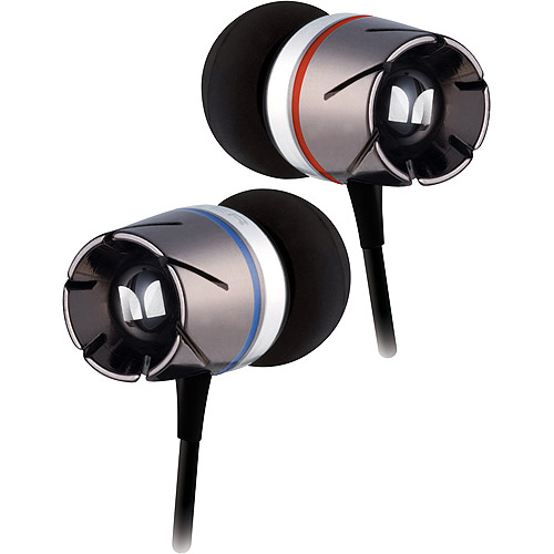 Monster Turbine High Performance In-Ear Speakers - Earphones - in-ear - 3.5 mm jack - black chrome