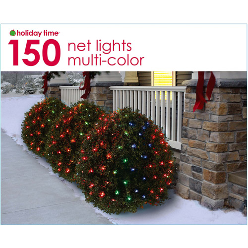 Holiday Time Net Christmas Lights Multi, 150 Count