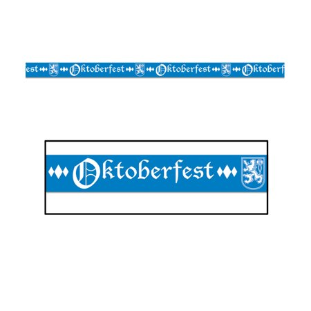 German Oktoberfest Party Tape Halloween Decoration 3