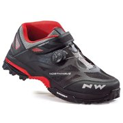 Northwave, Enduro Mid , MTB shoes, Black/Red, 44