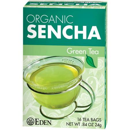 Eden Organic Sacs Sencha Thé
