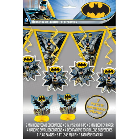 Batman Decorating Kit, 7pc