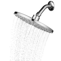 9'' Rainfall Shower Head Large Luxury Fixed Showerhead Made of Stainless Steel