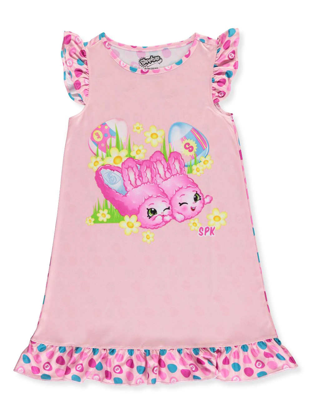"Little Girls' ""Bunny Slippers"" Nightgown (Sizes 4 - 6X)"