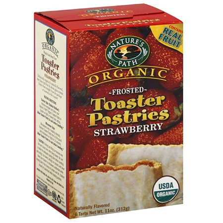 Nature S Path Organic Frosted Strawberry Toaster Pastries