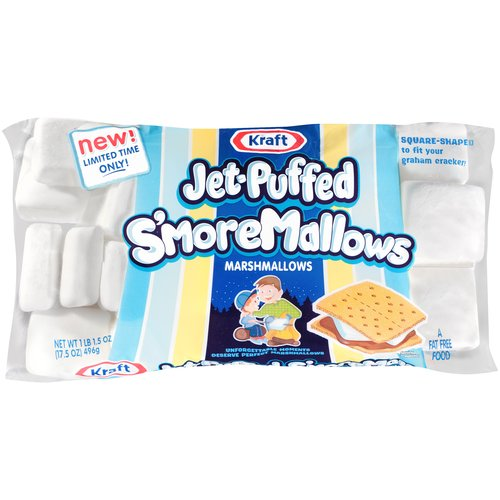 Kraft Jet-Puffed S'moreMallows Marshmallows 17.5 oz. Bag