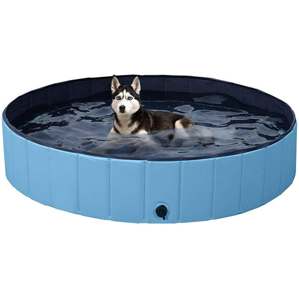 Dog Pools For Large Dogs Kiddie Pool For Dog Swimming Pools Portable Bathtub Cute Dog Bath Tubs For Dogs Cats And Kids Walmart Com Walmart Com