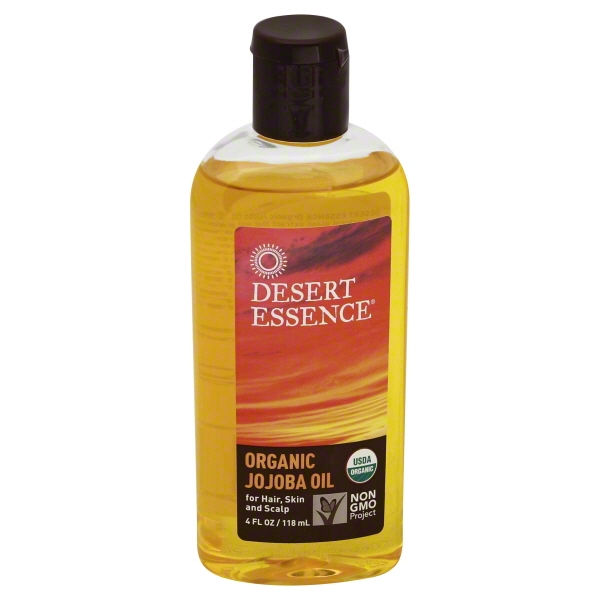 Desert Essence 100% Pure Jojoba Oil, 4 Ounce, Bottle