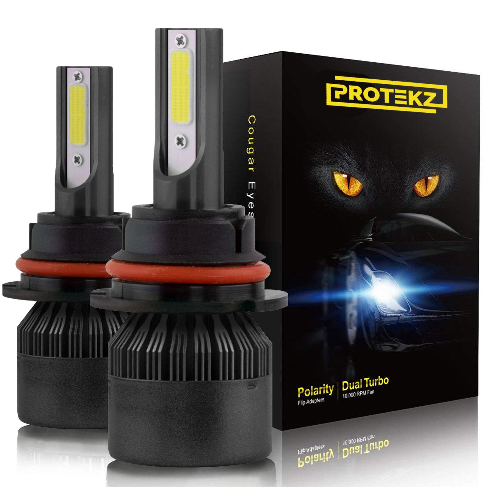 Protekz 6000K LED Fog Light Kit for 2009-2014 Toyota MATRIX H11 Fog Bulb