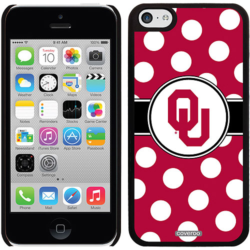 Oklahoma Polka Dots Design on iPhone 5c Thinshield Snap-On Case by Coveroo