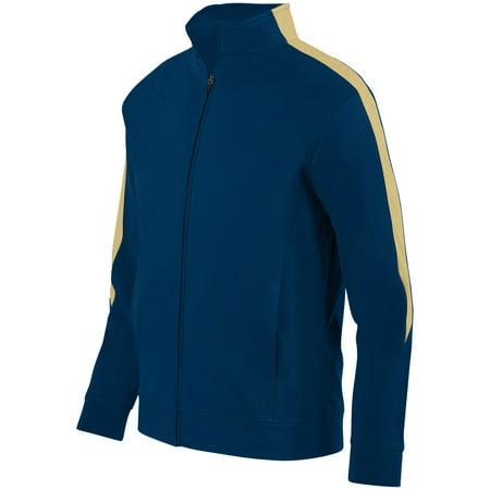 Augusta Sportswear L Boys Medalist Jacket 2 0 Navy Vegas Gold