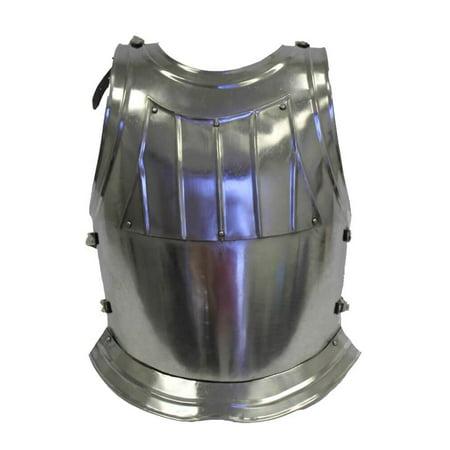STEEL KNIGHT BREASTPLATE - Costume Armor - - Renaissance Knight Armor