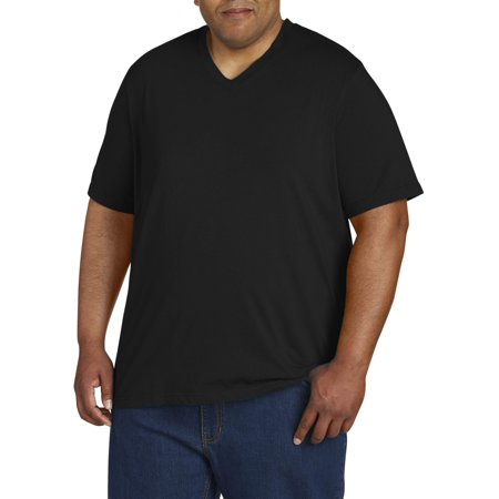 - Men's Wicking Jersey Short Sleeve V Neck Tee