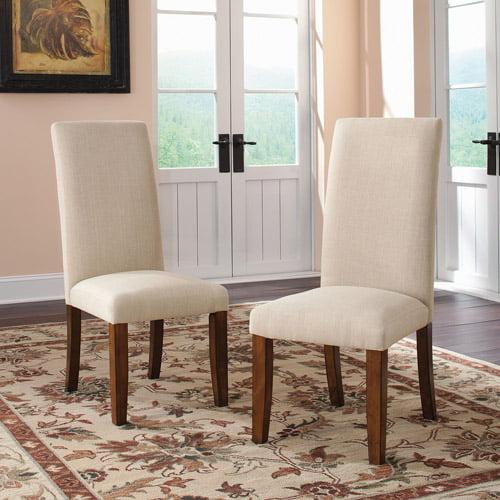 Sauder Carson Forge Parson Chair, Set of 2, Washington Cherry
