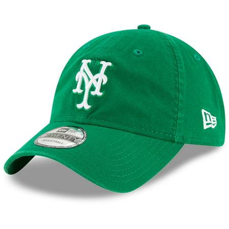 New York Mets New Era St. Patrick's Day Core Classic 9TWENTY Adjustable Hat - Green - - Ny Mets Hats