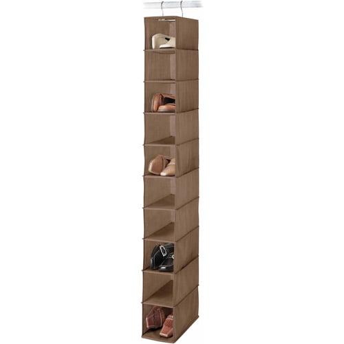 Whitmor Manufacturing 6924-112-CHOC Chocolate Hanging Shoe Shelf