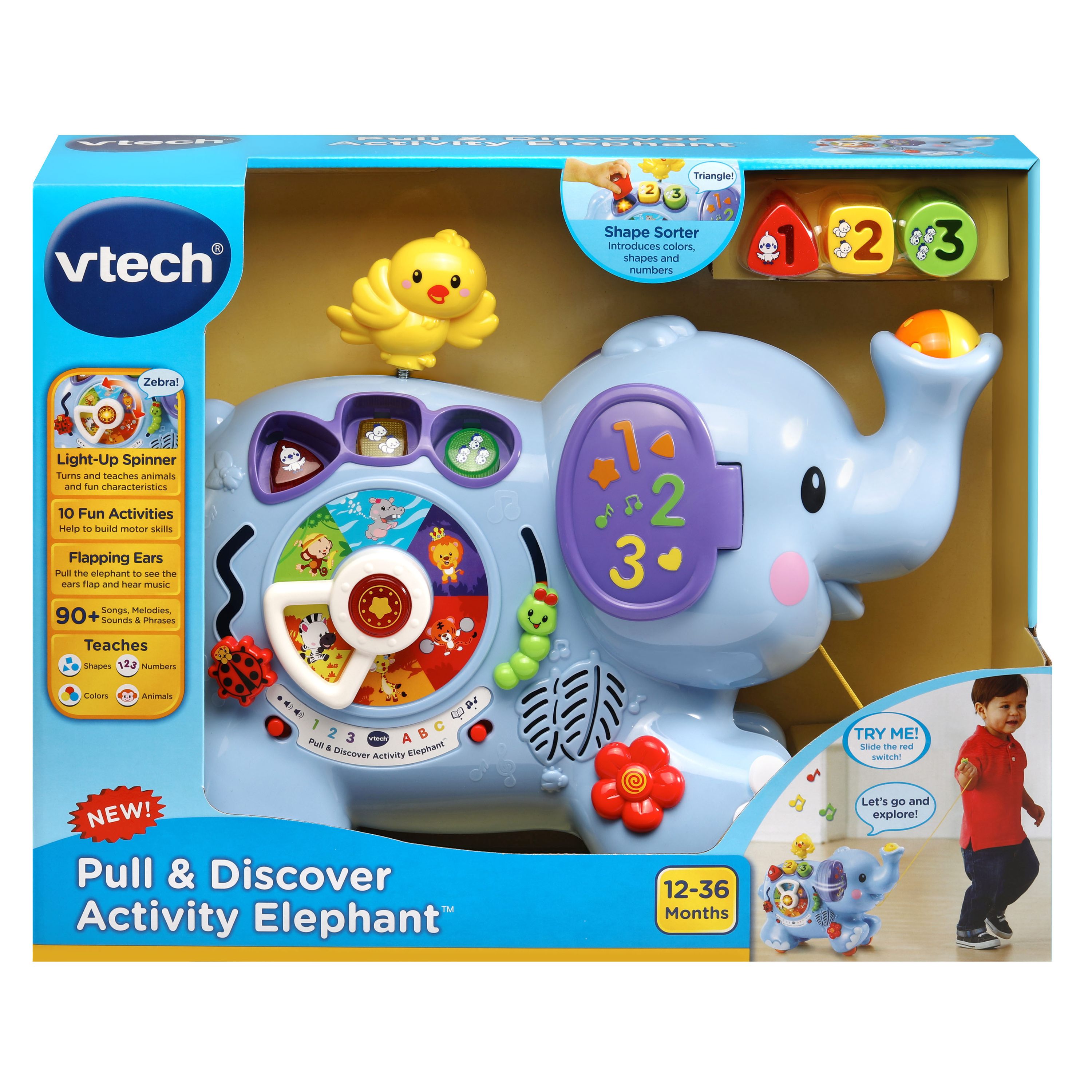 VTech Pull & Discover Activity Elephant™ Walmart