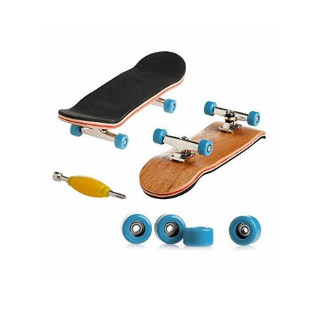 Lavaport Professional Mini Finger boards Deck Skateboard with Tools Set - Pack Skateboard Fingerboard