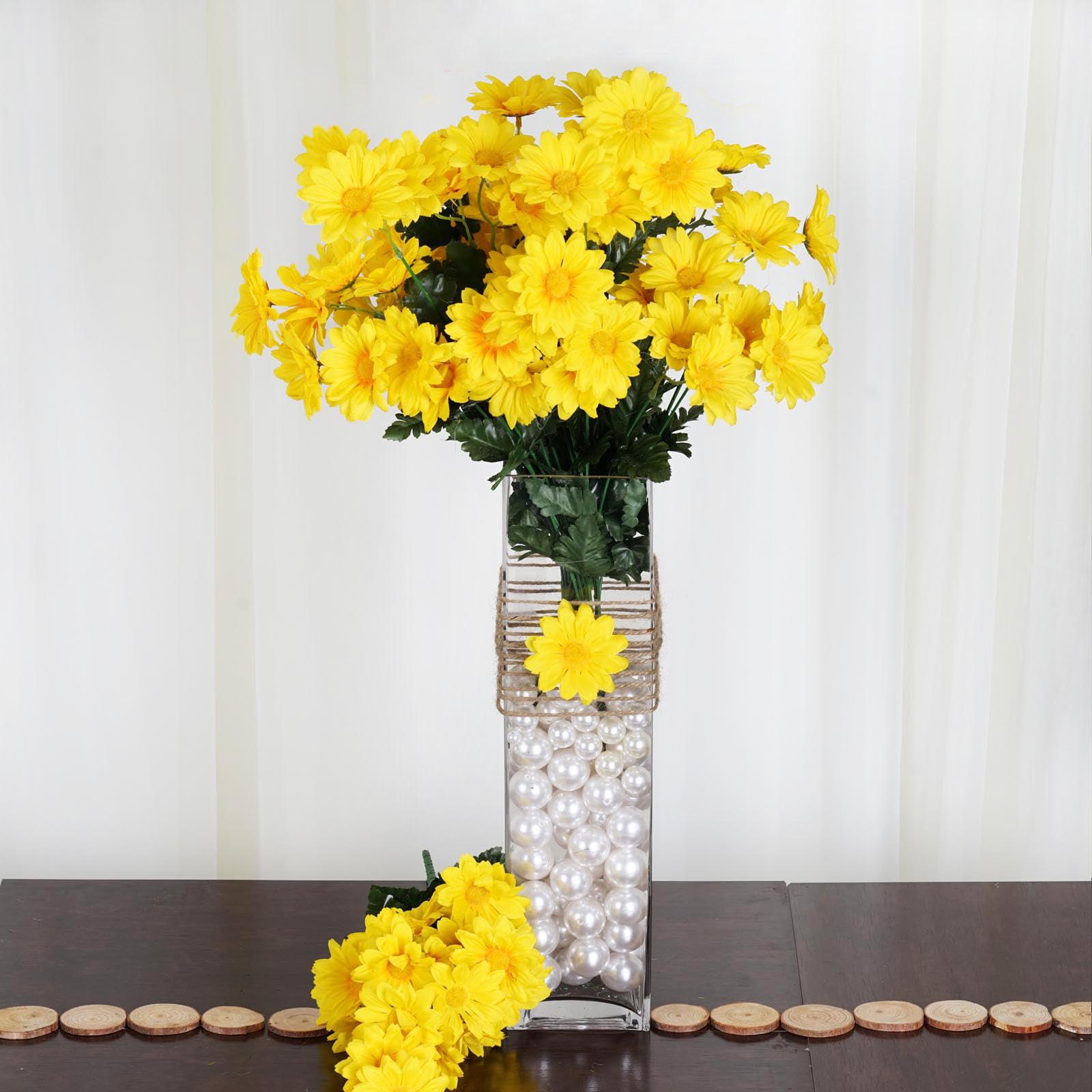 Efavormart 88 Artificial Gerbera Daisy Flowers for DIY Wedding Bouquets Centerpieces Arrangements Party Home Decorations Wholesale