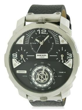 Diesel Men's Machinus Leather Watch DZ7379