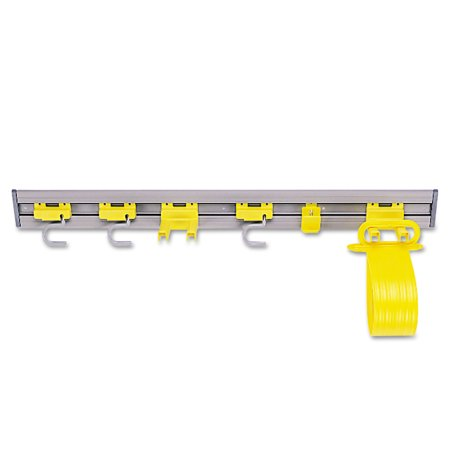 Rubbermaid Commercial, Closet Organizer / Tool Holder, 1 Each, Gray ()