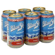 Blue Sky Natural Cola,12 oz (Pack of 4)