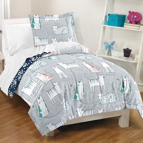 Zoomie Kids Lynne 100pct Cotton 2 Piece Reversible Comforter Set