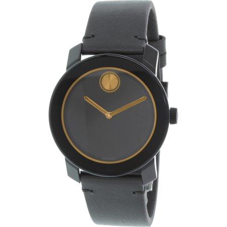 Collection Swiss Quartz Watch - Men's Bold 3600297 Black Resin Swiss Quartz Watch