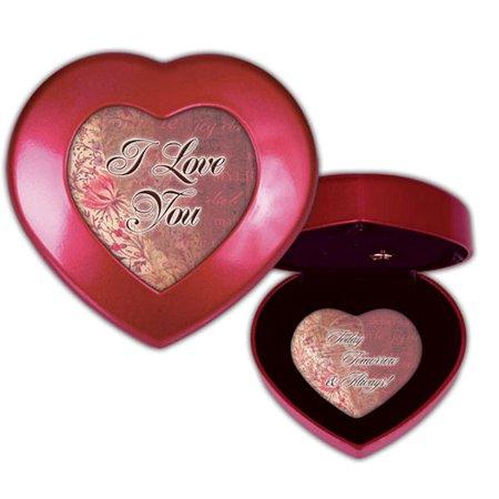 - Cottage Garden HMV04R Love Heart-Shaped Music Box