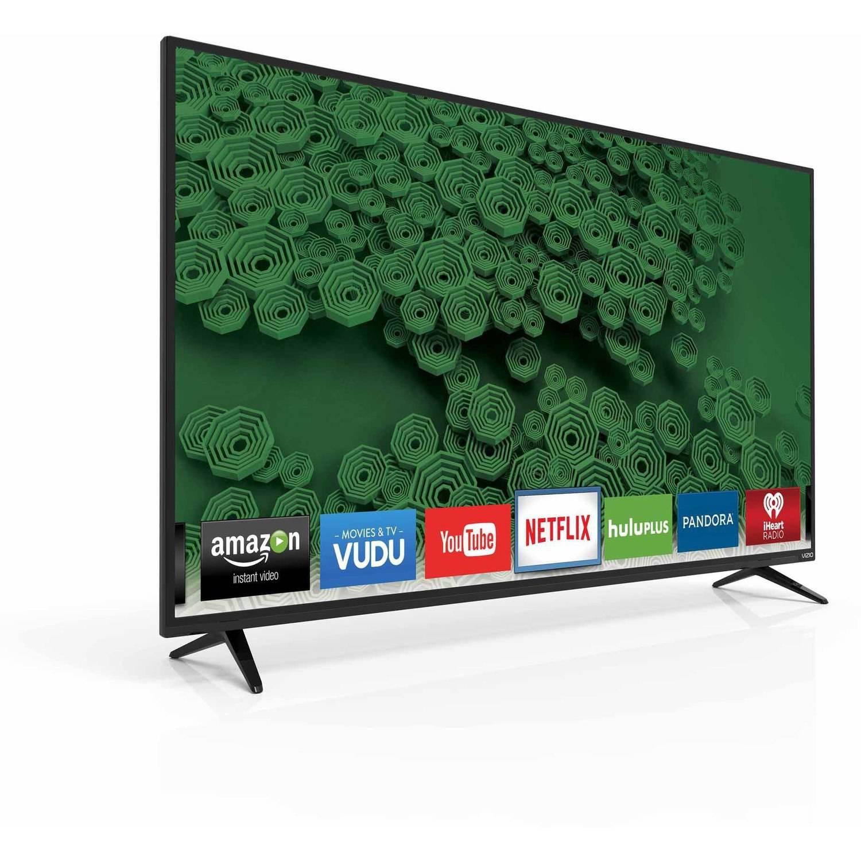 """Vizio D50U-D1 4K 120Hz 50"""" Smart LED TV, Black (Certified Refurbished)"""