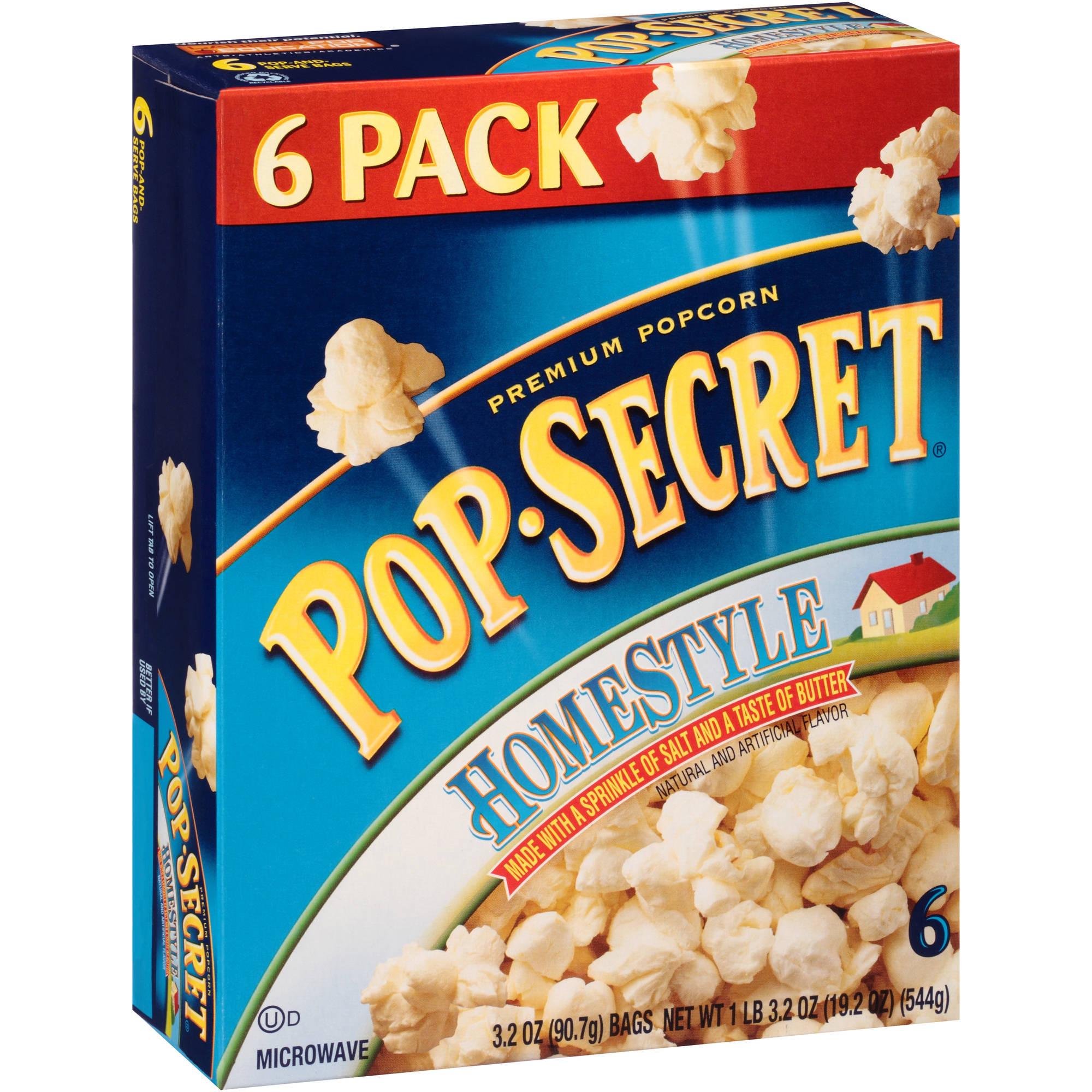 Pop-Secret Homestyle Popcorn, 3.2 oz