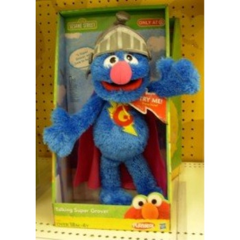 Sesame Street Talking Super Grover by