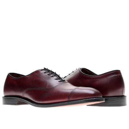 Allen Edmonds Park Avenue Cap Toe Oxfords Merlot Men's Dress Shoes Size 7E