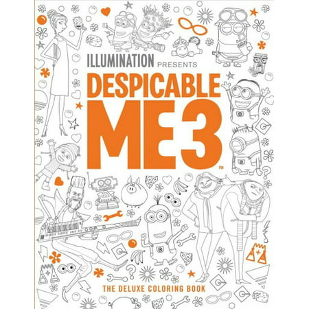 Despicable Me 3: the Deluxe Coloring Book: The Deluxe Coloring Book