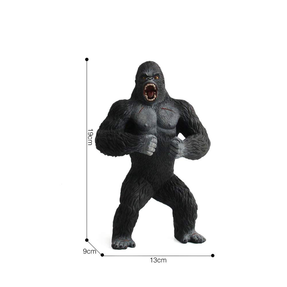 King Kong Toys for Kids. Realistic Simulation Solid Animal Chimpanzee Toys by