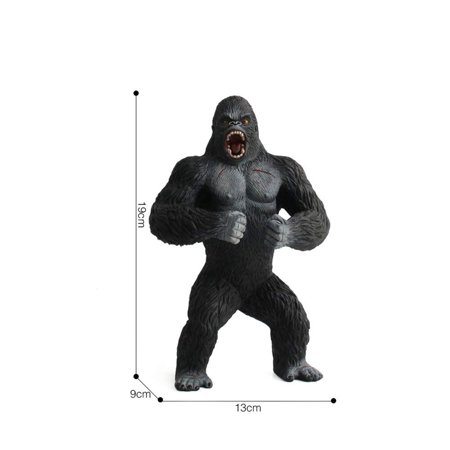 King Kong Toys for Kids. Realistic Simulation Solid Animal Chimpanzee Toys King Kong Toys for Kids. Realistic Simulation Solid Animal Chimpanzee Toys