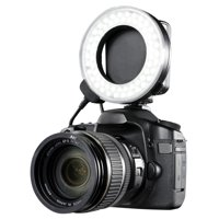 Canon EOS Rebel T6 Dual Macro LED Ring Light / Flash (Applicable For All Canon Lenses)