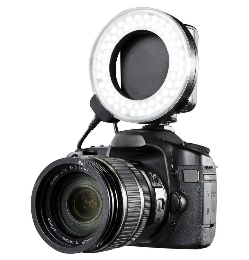 Canon EOS Rebel T2i Dual Macro LED Ring Light / Flash (Applicable For All Canon Lenses)