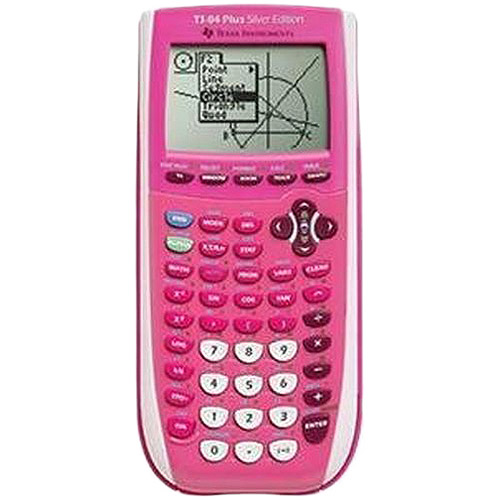 Texas Instruments TI-84 Plus Silver Edition, Pink