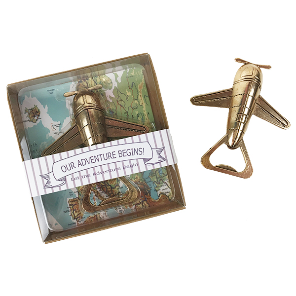 Just Artifacts Adventure Airplane Wine Bottle Opener Perfect Party