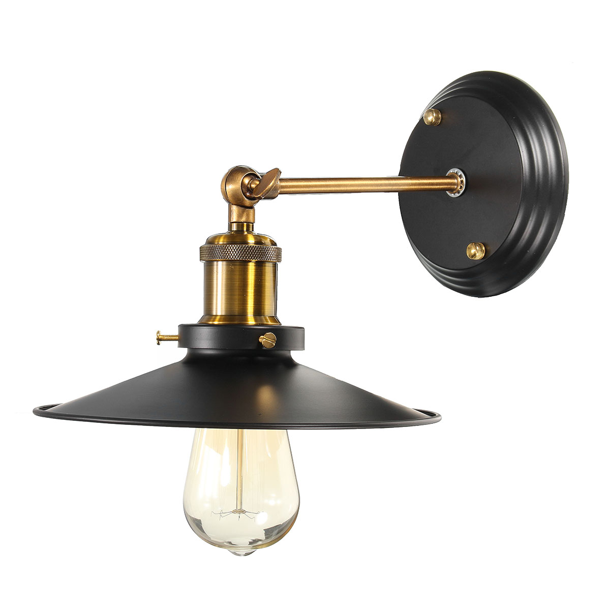 200� Adjustable Metal Retro Vintage Edison Industrial Ceiling Lamp Light Pendant Chandelier Wall Light Fixture Lampshade... by