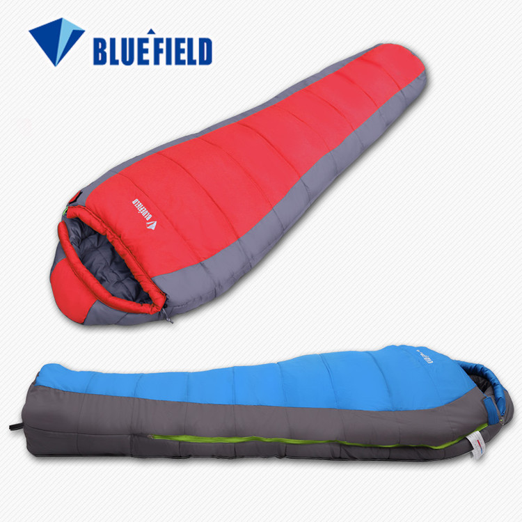 Comfortable Waterproof Mummy Sleeping Bag Warm Adult Cotton Hiking Sleeping Bag for Outdoor Camping Adventure Large... by